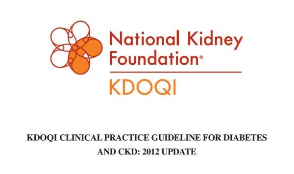 Рекомендации KDOQI по лечению сахарного диабета и диабетической нефропатии