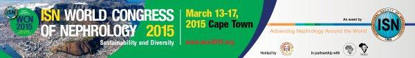 Бесплатный доступ к лекциям Всемирного конгресса по нефрологии 2015 года